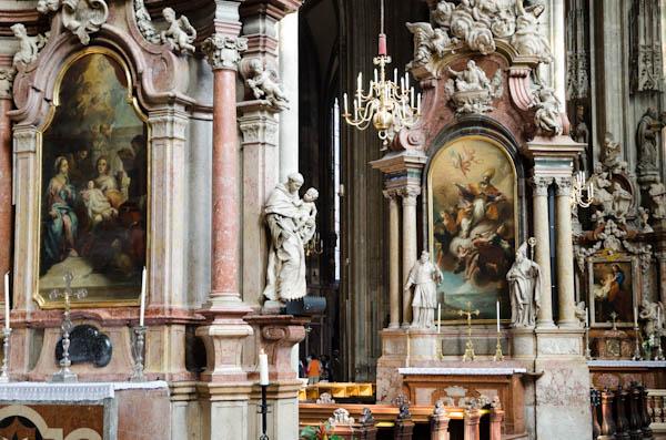 Intérieur de la cathédrale St-Etienne