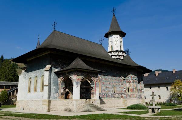 L'égilse du monastère de Sucevita