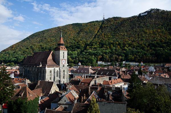 Brasov, ville fortifiée et ancienne métropole saxonne
