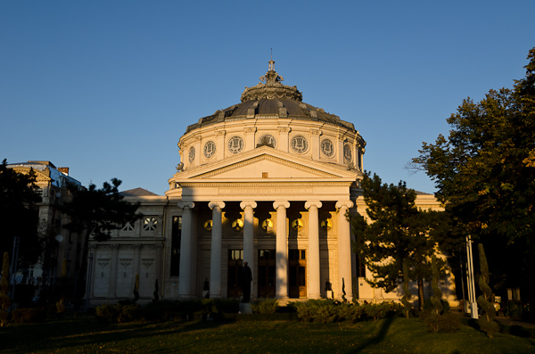 L'Athénée roumain, dans le centre historique de Bucarest