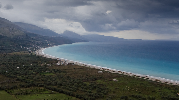 Les côtes sauvages de la mer ionique