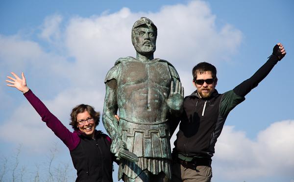 Sur les traces d'Euclès, le premier coureur de marathon de l'Histoire, il y a 2'501 ans!