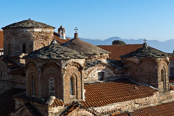 Au cœur du monastère de Treskavec, perché au sommet d'une montagne
