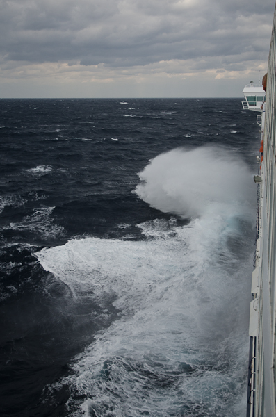 Sale temps pour une traversée de la Mer Egée…
