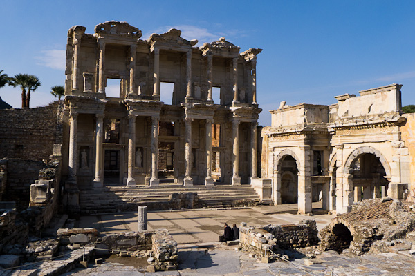Magistrale bibliothèque de Celsus à Ephèse