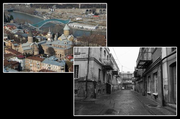Dans le centre de Tbilissi: les quartiers du Patriarche et les ruelles de la vieille ville