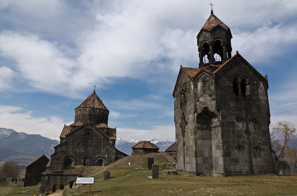 Le monastère de Haghpat, fondé en 976, surplombe le canyon de Debed