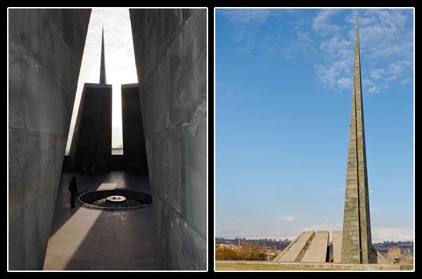 Entre mémoire et espoir au mémorial du génocide arménien de Erevan
