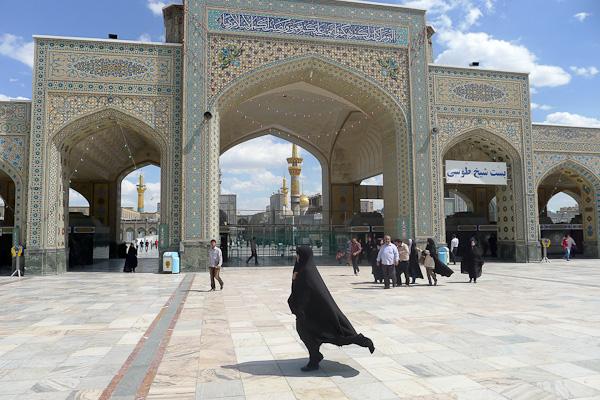 Mausolée de l'Emam Rezâ à Mashhad, deuxième lieu de pèlerinage chiite après la Mecque