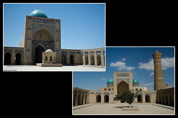 La mosquée Kalon du XVIe siècle peut accueillir 10'000 fidèles