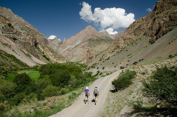 Après le désert, place aux sentiers de montagne!