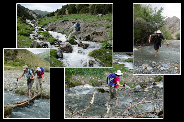 C'est bien connu, quiconque traverse des rivières finit par avoir les pieds mouillés!