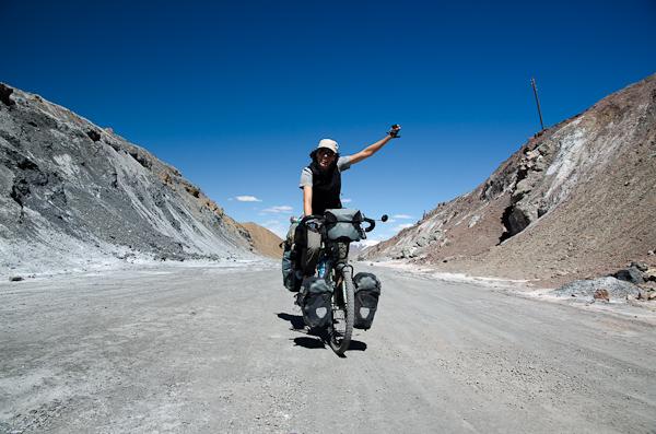 4'655 mètres d'altitude et sur le vélo, s'il vous plait!