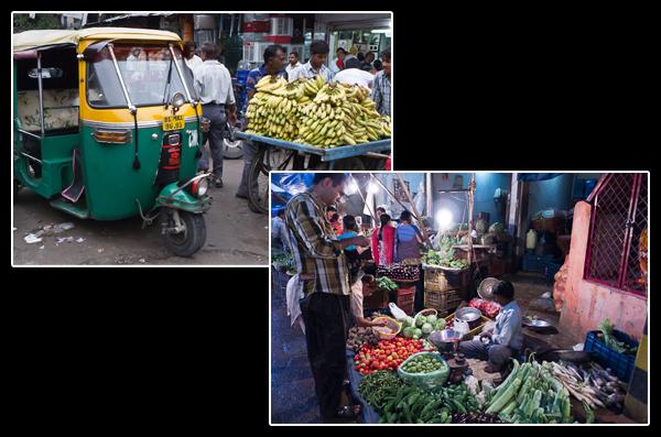 Dans les rues de Paharganj: manquent le bruit et l'odeur
