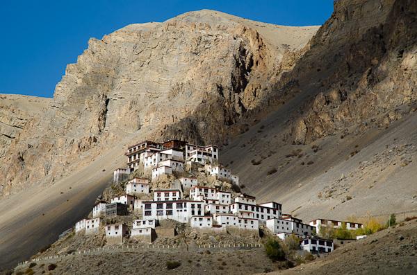 Le Ki Gompa, le plus grand monastère de la vallée, accueille près de 300 moines
