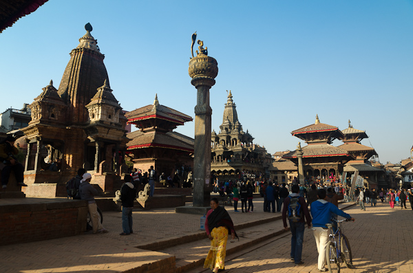 Le Durbar Square de Patan offre un condensé d'architecture Newari