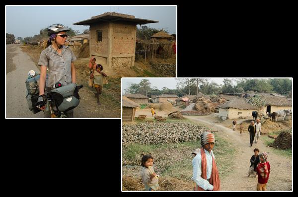 Accueil circonstancié lors de notre arrivée dans le Bihar