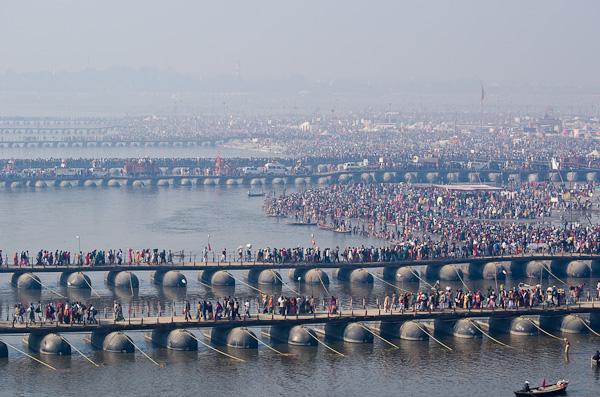 Pour un tel événement, une gigantesque infrastructure a été mise en place