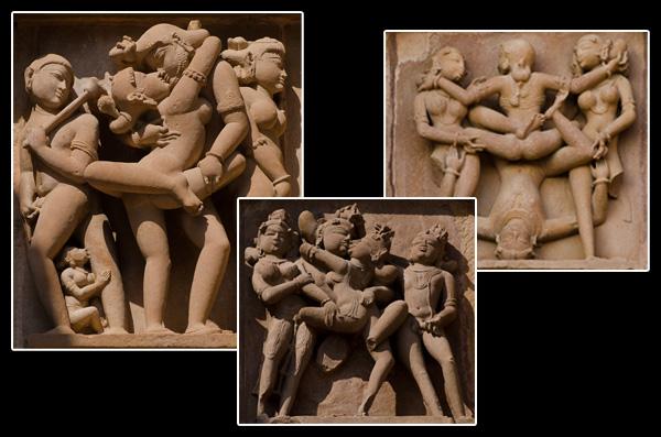 La signification des scènes érotiques sur certaines parties des temples reste un mystère…