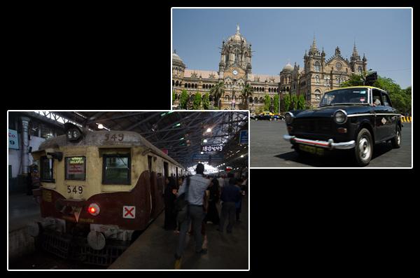 Victoria Terminus: la gare la plus importante d'Asie avec 2,5 millions de passagers par jour!