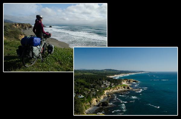 Route avec vue: falaises et plages sans fin