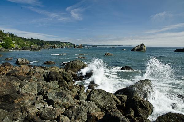 Y a pas mal de vagues mais on s'en lasse pas!