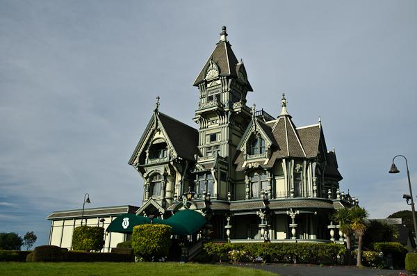Maison victorienne dans la ville d'Eureka. Déjà louée malheureusement…