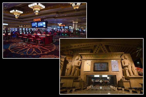 Salles de jeux et décors monumentaux, voilà ce qui se cache à l'intérieur des casinos