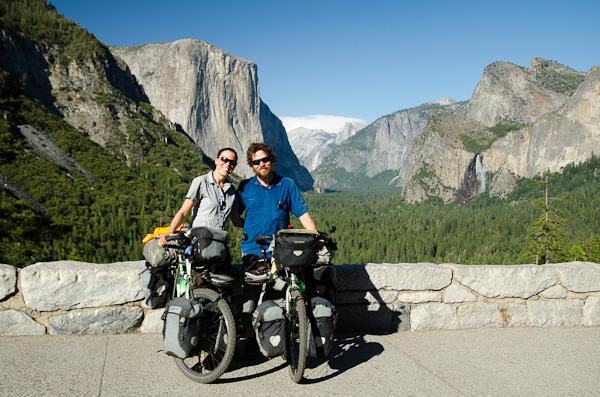 Point de vue sur la vallée du Yosemite
