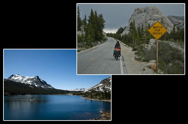 L'ascension se poursuit entre blocs de granite et lacs de montagne