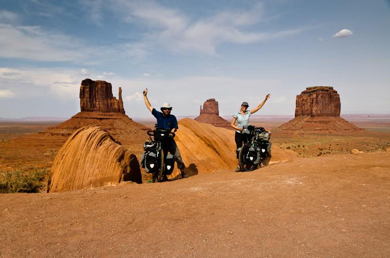 Monument Valley compte parmi les paysages les plus célèbres des USA. Yeah!!!