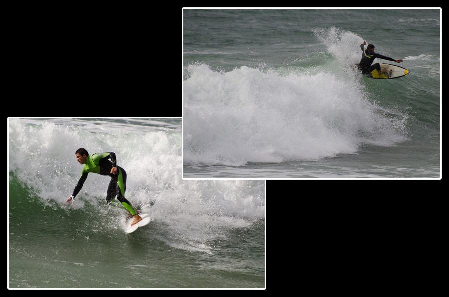 Les vagues portugaises sont parmi les plus grosses au monde. Débutants s'abstenir…