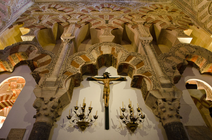 En 1236, Cordoue fut reprise par les chrétiens et la mosquée transformée en église